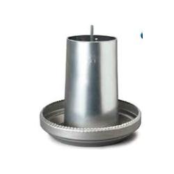 Cylindre galva pr mangeoire 40kg avec traverse superieure