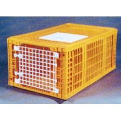 Cage a dindes 100/60 2 portes latérales