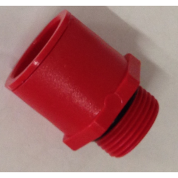 Raccord reducteur Super Drop central tube vert