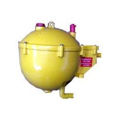 Reservoir spherique 1 sortie pour cage