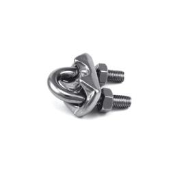 Serre cable acier galva d.8