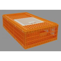 Cage piedmont 1 porte superieure coulissante 97x58x27
