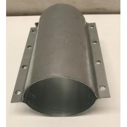 MANCHON INOX POUR TUBE PVC DIAM 90